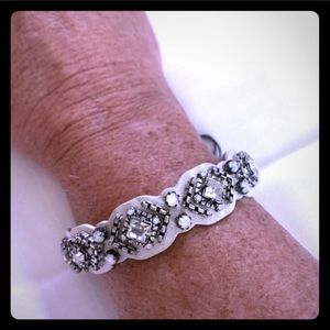 Stella & dot silver diamond bracelet accessories